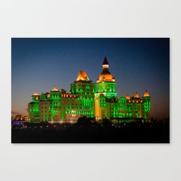 Wizard Castle Canvas Print