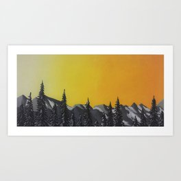 Northern Cascades 1 of 3 Art Print