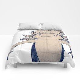 WTF Axolotl Comforters