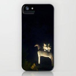 horse in hong kong iPhone Case