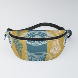 Sea Life Pattern Fanny Pack