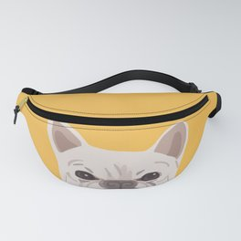 Frenchie on Yellow Fanny Pack