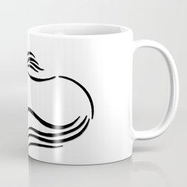 Swift Mare Stylized Inking Coffee Mug
