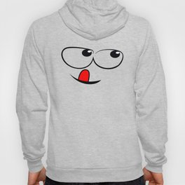 Smiling Face With Red Tongue Hoody