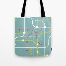 Line By Line - Bubblegum Pop-A Tote Bag