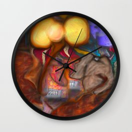 Mosquito Phant  Wall Clock