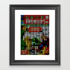 Comic III Framed Art Print