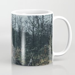 Fallen And Broken Trees After Storm Victoria February 2020 Möhne Forest 5 dark Coffee Mug