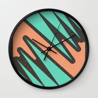 vendetta Wall Clocks featuring vendetta by Celery Woulise