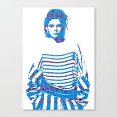 Fashion: Stripes Canvas Print