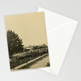 A brief description of the beauties of Alameda (1903) - Park Avenue - Lawns in Midwinter Stationery Cards