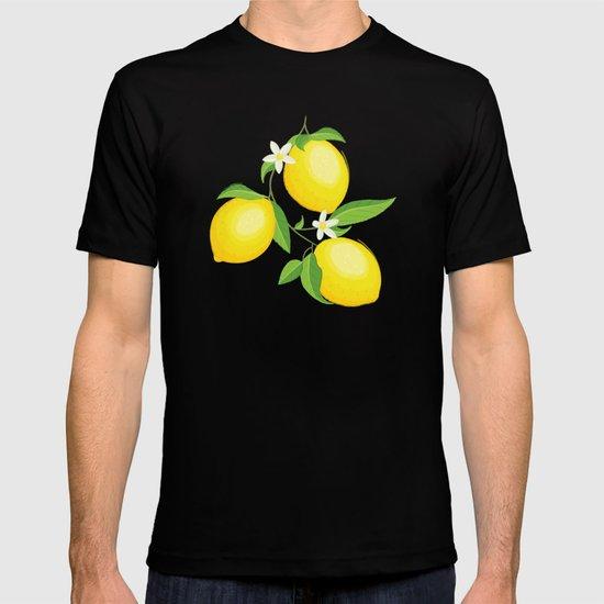 You're the Zest - Lemons on White by larkstudios