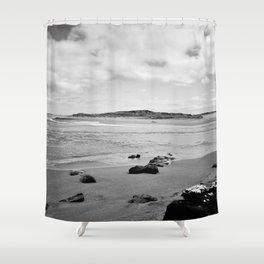 Beach - New Zealand South Coast Shower Curtain