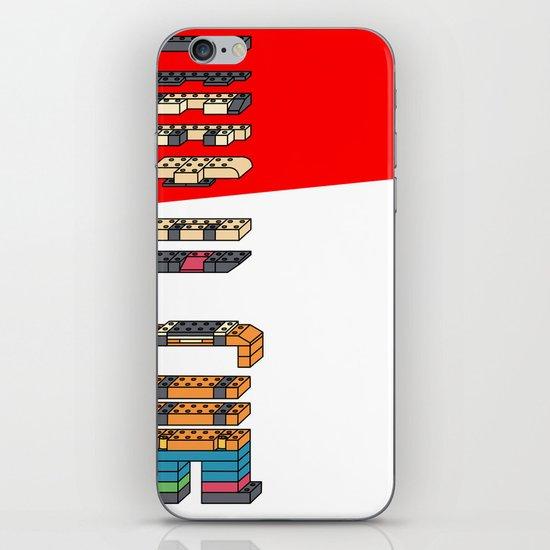 LEGO MAN  iPhone & iPod Skin