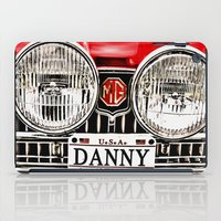 danny haas iPad Cases featuring MG Danny by Catherine Doolan