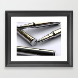 im sexy bullet Framed Art Print