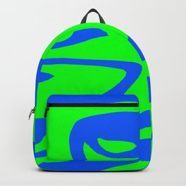 Wild: Blue and Green Backpack