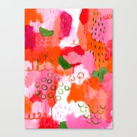 popsicle Canvas Prints featuring Popsicle by Portia Monberg
