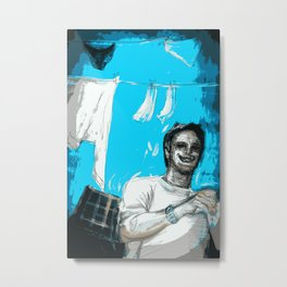 Hung Out To Dry Metal Print