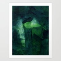 Crystal Evaporating in a Full Void Art Print