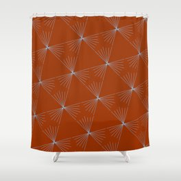 The Art of Triangles Shower Curtain