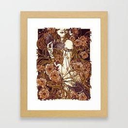 Rapunzel Mulberry Framed Art Print