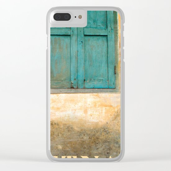 Antique Chinese Wall of Hoi An Clear iPhone Case