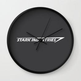 Iron hero, man, super powers Wall Clock