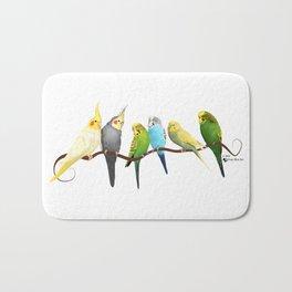 Parakeets and Cockatiels Bath Mat