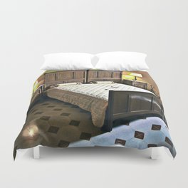 Sardinian bed room  Duvet Cover