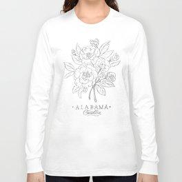 Alabama Sketch Long Sleeve T-shirt