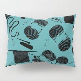 yarn teal Pillow Sham