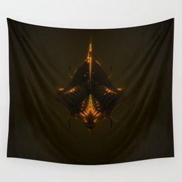 King Dark CatFish Wall Tapestry