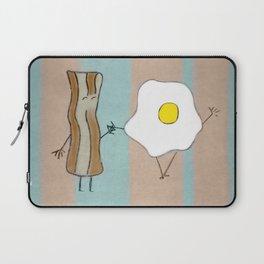 Bacon & Egg Togetherness Laptop Sleeve