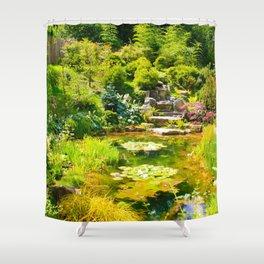 The Tea Garden Shower Curtain