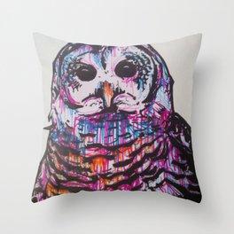Something like an Owl Throw Pillow