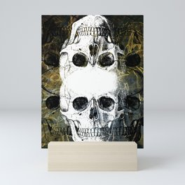 Skull Graffiti 1.0 Mini Art Print