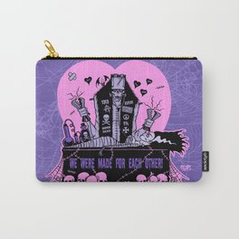 we were made for each other Carry-All Pouch