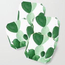 Green Paddle Cactus II Coaster