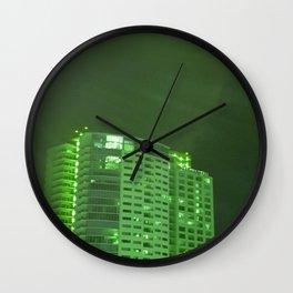 Green latern Wall Clock