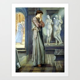 Edward Burne-Jones Pygmalion and the Image The Heart Desires Art Print