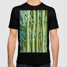 Bamboo Black MEDIUM Mens Fitted Tee
