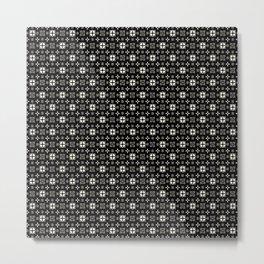 HITCHCOCK geo Metal Print