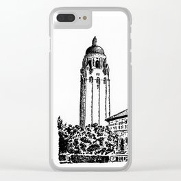 Hoover Tower, Stanford Uni Clear iPhone Case