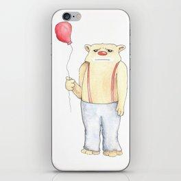 Bum Out Bear iPhone Skin