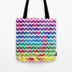 Mixed Colors Tote Bag