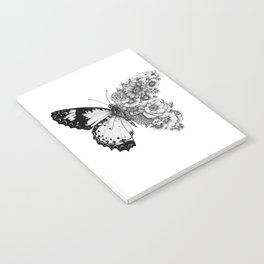 Butterfly in Bloom Notebook