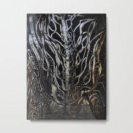 NERVE Metal Print