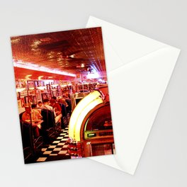 Mel's Diner Stationery Cards