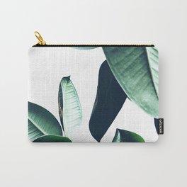 Ficus Elastica #26 #foliage #decor #art #society6 Carry-All Pouch